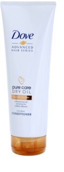 Dove Advanced Hair Series Pure Care Dry Oil Condicionador para cabelos secos e oleosos