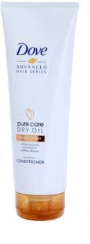 Dove Advanced Hair Series Pure Care Dry Oil балсам за суха коса без блясък
