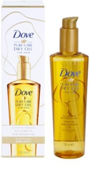 Dove Advanced Hair Series Pure Care Dry Oil olio nutriente per capelli