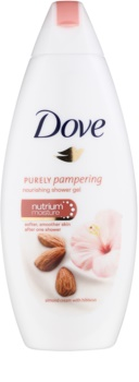 Dove Purely Pampering Almond gel de banho nutritivo