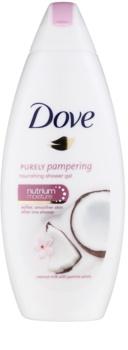 Dove Purely Pampering Coconut Milk gel de banho nutritivo