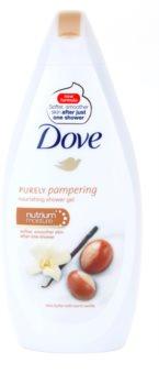 Dove Purely Pampering Shea Butter gel de dus hranitor
