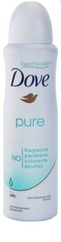 Dove Pure deodorant antiperspirant ve spreji