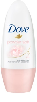 Dove Powder Soft antiperspirant roll-on