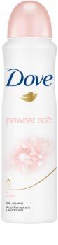Dove Powder Soft antitranspirante em spray