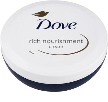 Dove Rich Nourishment crema corporal nutritiva con efecto humectante