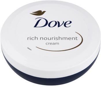Dove Rich Nourishment crème corporelle nourrissante pour un effet naturel