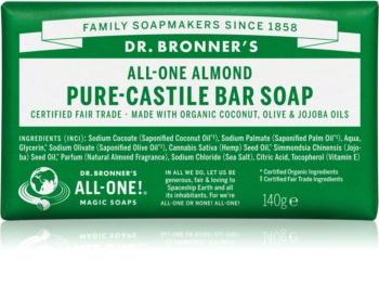 Dr. Bronner's Almond tuhé mýdlo