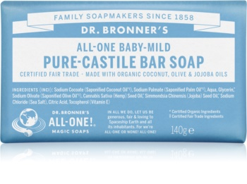 Dr. Bronner's Baby-Mild sabonete sólido sem perfume