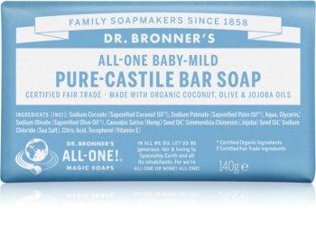 Dr. Bronner's Baby-Mild туалетне мило без ароматизатора