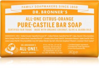 Dr. Bronner's Citrus & Orange mydło w kostce