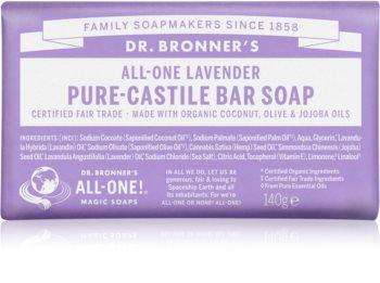 Dr. Bronner's Lavender tuhé mýdlo