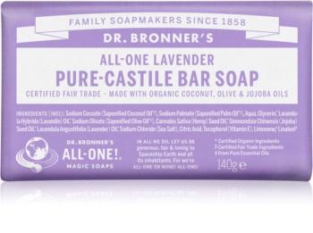 Dr. Bronner's Lavender tuhé mydlo
