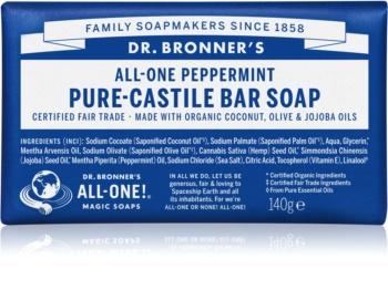 Dr. Bronner's Peppermint Bar Soap