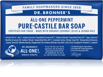 Dr. Bronner's Peppermint sapone solido