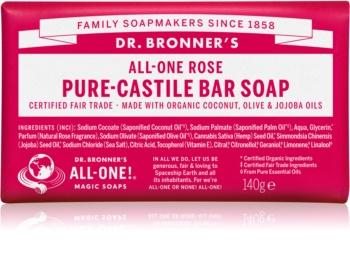 Dr. Bronner's Rose savon solide