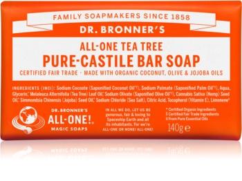 Dr. Bronner's Tea Tree savon solide