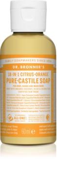 Dr. Bronner's Citrus & Orange tekuté univerzální mýdlo