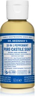 Dr. Bronner's Peppermint tekuté univerzálne mydlo
