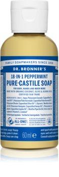 Dr. Bronner's Peppermint tekuté univerzální mýdlo