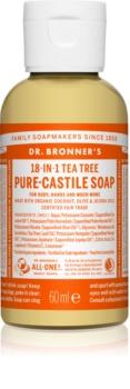 Dr. Bronner's Tea Tree tekuté univerzální mýdlo