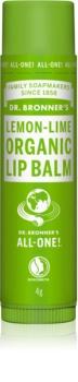 Dr. Bronner's Lemon & Lime balsam de buze
