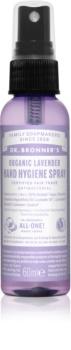 Dr. Bronner's Lavender очисний спрей, який не потрібно змивати для рук