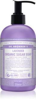 Dr. Bronner's Lavender рідке мило для тіла та волосся