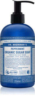 Dr. Bronner's Peppermint tekući sapun za tijelo i kosu