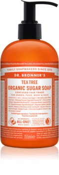 Dr. Bronner's Tea Tree Flüssigseife Für Körper und Haar