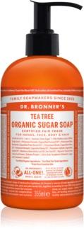 Dr. Bronner's Tea Tree sapone liquido per corpo e capelli