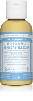 Dr. Bronner's Baby-Mild uniwersalne mydło w płynie nieperfumowane