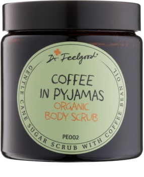 Dr. Feelgood BIO cukrový peeling s olejom z kávových bôbov