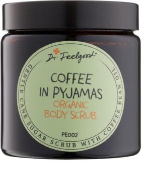 Dr. Feelgood BIO peeling de açúcar com óleo de grãos de café