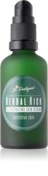 Dr. Feelgood Herbal Kick ser de reîntinerire în două faze pentru piele sensibila