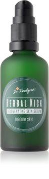 Dr. Feelgood Herbal Kick dvojfázové omladzujúce sérum  pre zrelú pleť