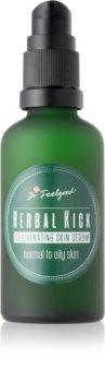 Dr. Feelgood Herbal Kick dvofazni pomlajevalni serum za normalno do mastno kožo