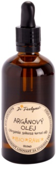 Dr. Feelgood BIO and RAW Cosmetic Argan Oil for Face, Body and Hair