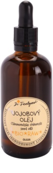 Dr. Feelgood BIO and RAW Jojoba Oil for All Types of Skin Including Sensitive Skin