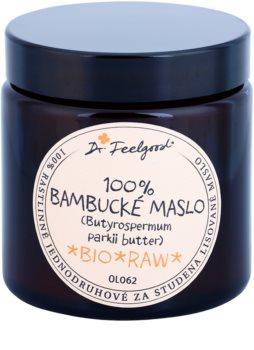 Dr. Feelgood BIO and RAW bambucké máslo