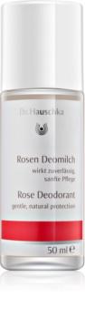 Dr. Hauschka Body Care růžový deodorant roll-on
