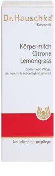 Dr. Hauschka Body Care nawilżające mleczko do ciała z cytryną i trawą cytrynową