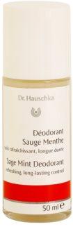 Dr. Hauschka Body Care deodorant cu salvie si menta