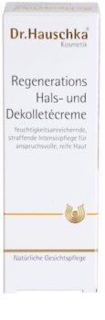 Dr. Hauschka Facial Care crema regeneratoare pentru gat si decolteu