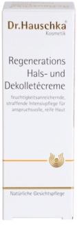 Dr. Hauschka Facial Care crème régénérante cou et décolleté