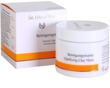 Dr. Hauschka Facial Care tisztító és élénkítő arcmaszk agyagból