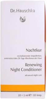 Dr. Hauschka Facial Care megújító éjszakai ápolás ampullákban
