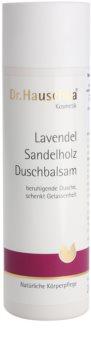 Dr. Hauschka Shower And Bath balsam pentru dus cu lavanda si lemn de santal
