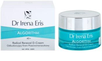 Dr Irena Eris AlgoRithm 40+ obnovitvena krema proti gubam SPF 20