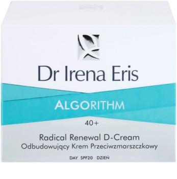 Dr Irena Eris AlgoRithm 40+ obnovující krém proti vráskám SPF 20